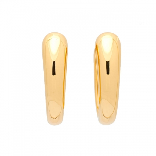 Pendientes de oro amarillo.