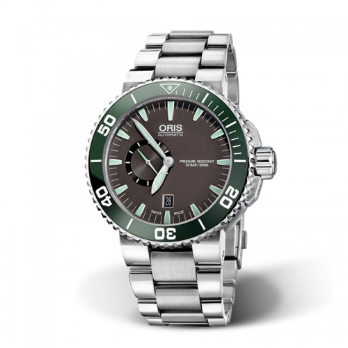 Reloj Oris Aquis Small Second, Date 743 7673 4137