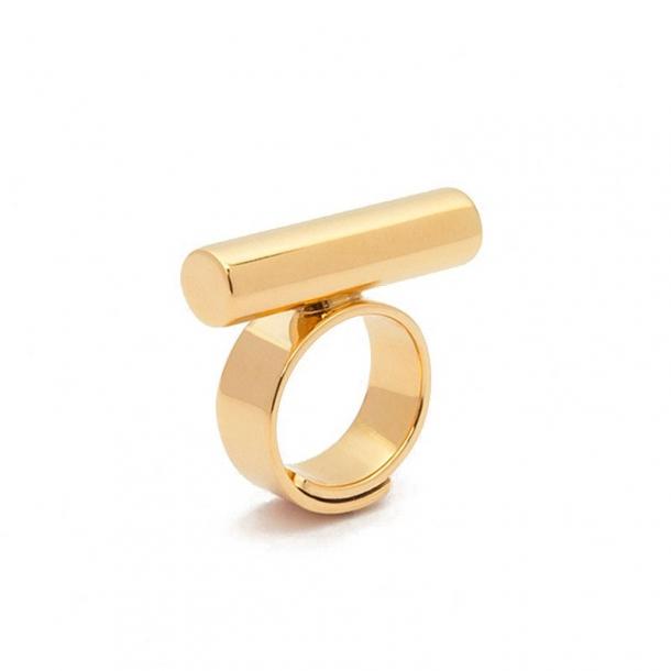 Anillo Trípoli de plata y oro - 314482